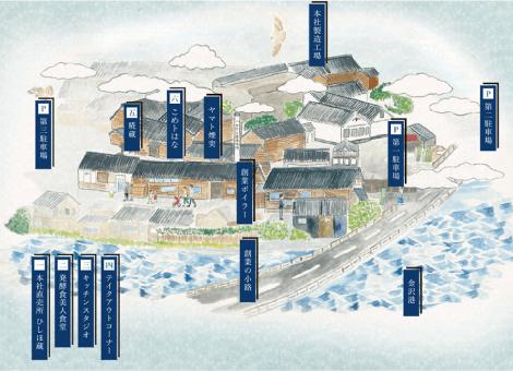 ヤマト糀パーク MAP